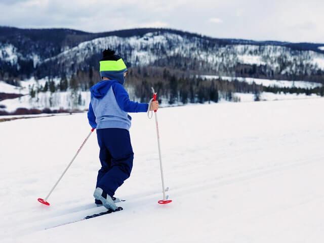 zimní sport pro děti