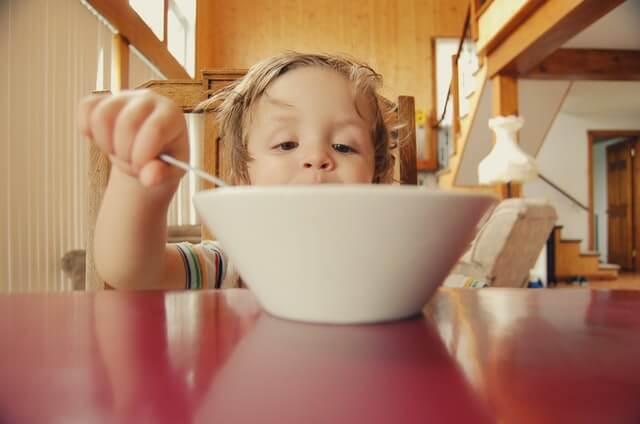 Zdravé jídlo pro děti