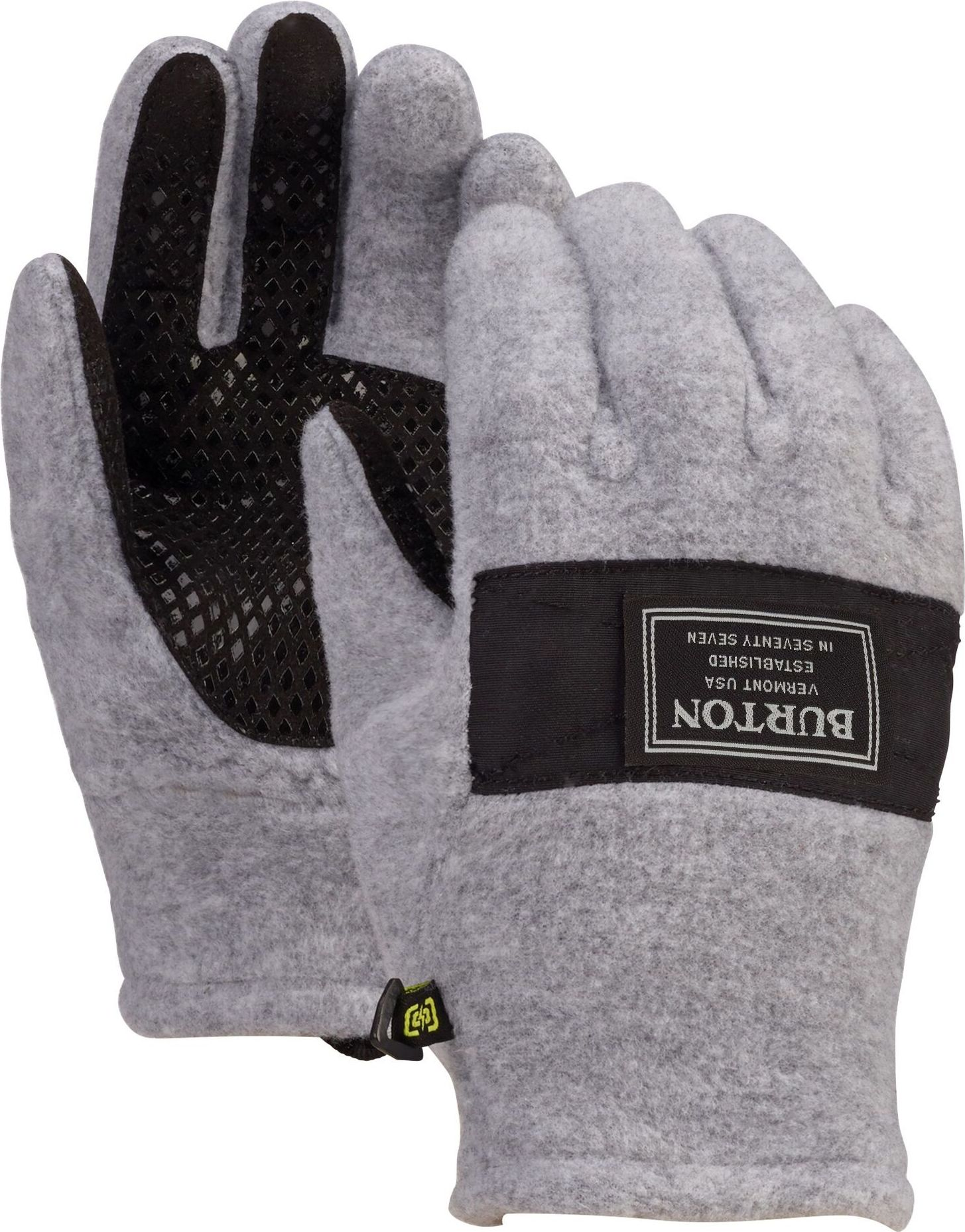 Burton Kids' Ember Fleece Glove - gray heather L - obrázek 1