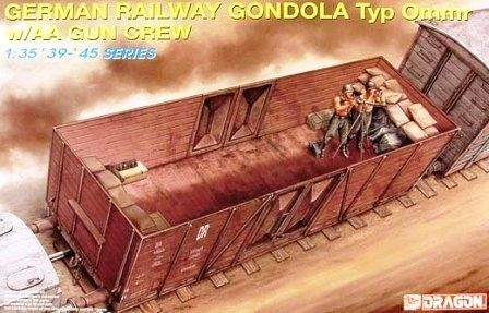 DRAGON Model Kit vagón 6086 - GERMAN RAILWAY GONDOLA (1:35) - obrázek 1