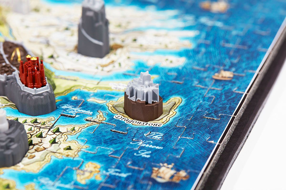 ADC Blackfire 4D Cityscape - Game Of Thrones / Mini Westeros 3D Puzzle - obrázek 2