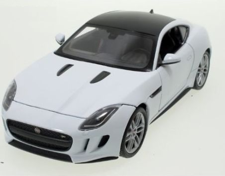 Welly - Jaguar F-Type Coupe model 1:24 white - obrázek 1