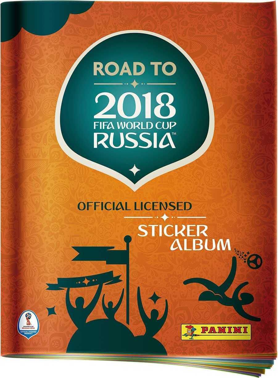 PANINI ROAD TO WORLD CUP 2018 - album - obrázek 1