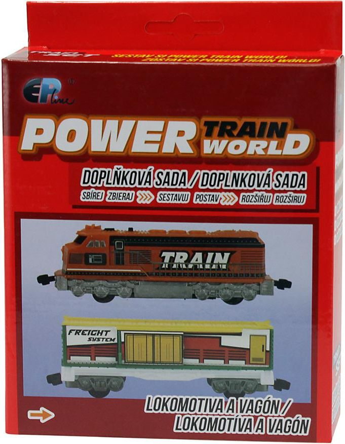 Power train World - Lokomotiva a vagón - obrázek 1